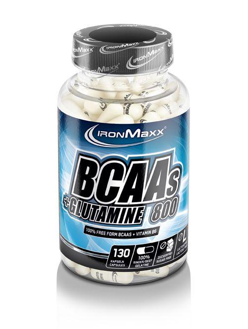 BCAA + Glutamine 800 130 caps