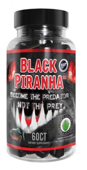 Black Piranha 60 caps - DMAA VERSION