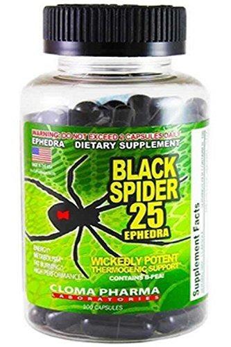 Black Spider 100 caps