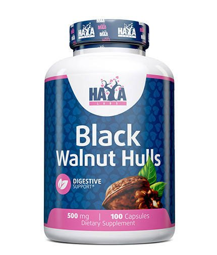 Black Walnut Hulls 500mg 100 caps