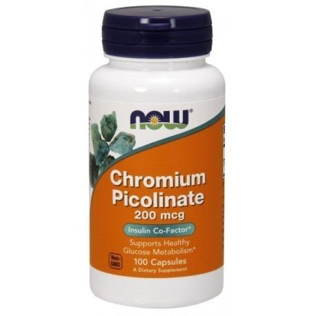 Chromium Picolinate 200mcg 100 caps