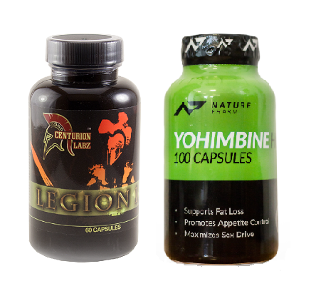 Legion 1.3 + Yohimbine hcl 100caps - set