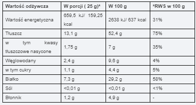 Masło Orzechowe 1000 g