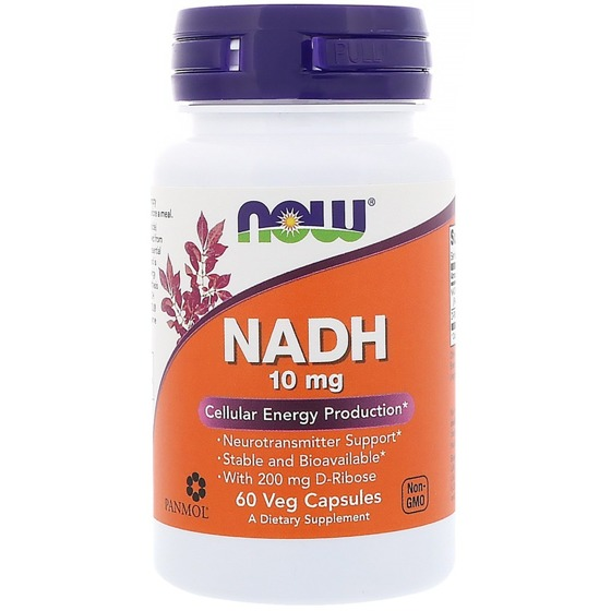 NADH 10 mg 60 caps.