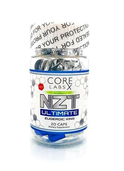 NZT Ultimate 20 caps Eugeroic King