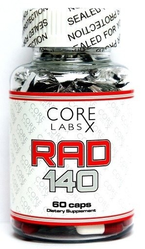 RAD 140 PRO 10mg 60 caps