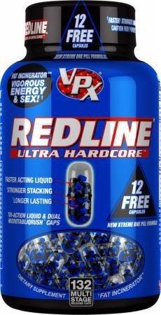Redline Ultra Hardcore 132 caps - LEGENDARY VERSION USA