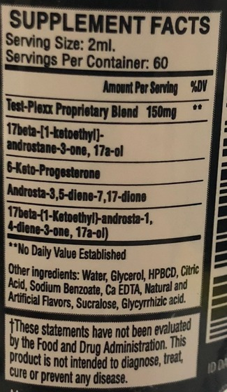 Test Plexx 400 120 ml