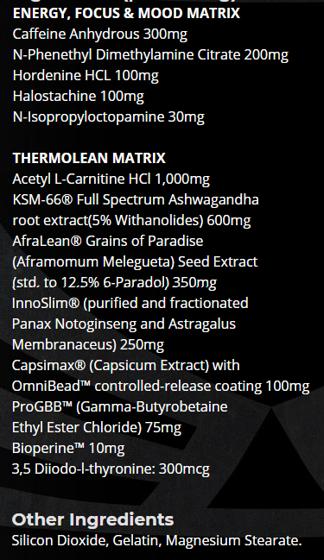 Thermo-Lean V2 180 caps