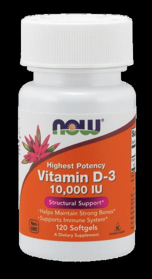 Vitamin D-3 10.000 IU 120 caps