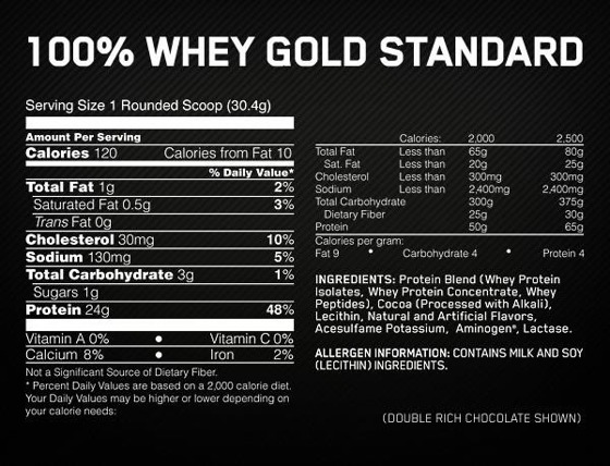 Whey Gold Standard 908g