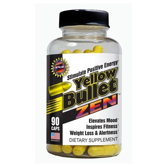 Yellow Bullet Zen 90 caps