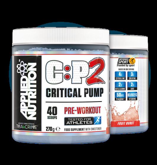 Critical Pump 2 270g 40 porcji
