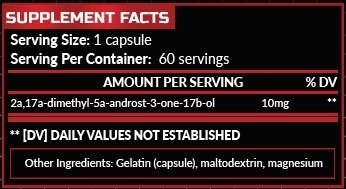 Hero Nutrition Superdrol 10mg 60 caps