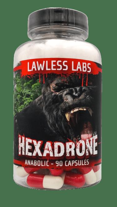 Lawless Hexadrone 50mg 90 caps