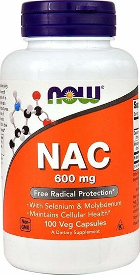 NAC 600 mg 100 caps