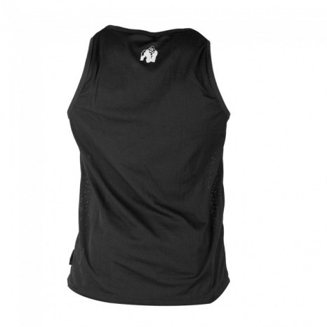 New York Mesh Tank Top Czarny