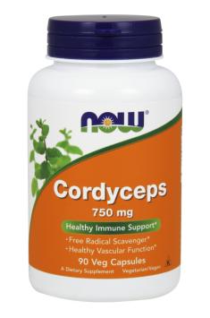 NowFoods Cordyceps 750mg 90 caps