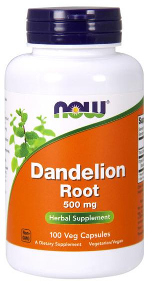 NowFoods Dandelion Root 500mg 100 caps