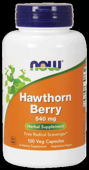 NowFoods Hawthorn Berry 540mg 100 caps