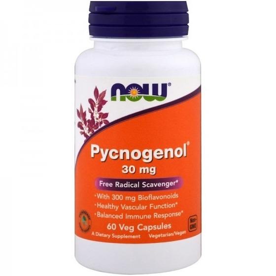 NowFoods Pycnogenol 30 mg 60 caps