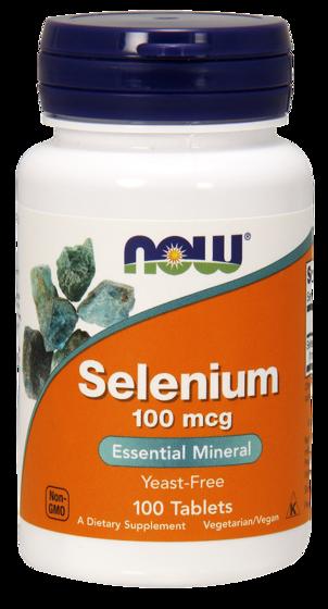 NowFoods Selenium 100mcg 100 caps