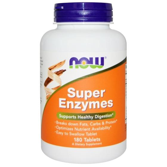 NowFoods Super Enzymes 180 tab
